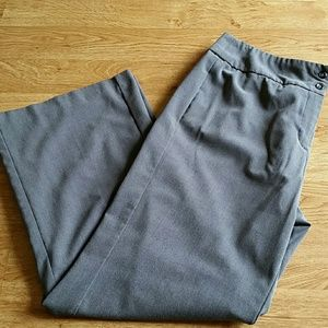 Good Condition Gray Trouser Pants Size 16
